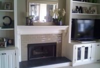 Diy Shelves Around Fireplace Around A Fireplace Diy Built in sizing 1024 X 768