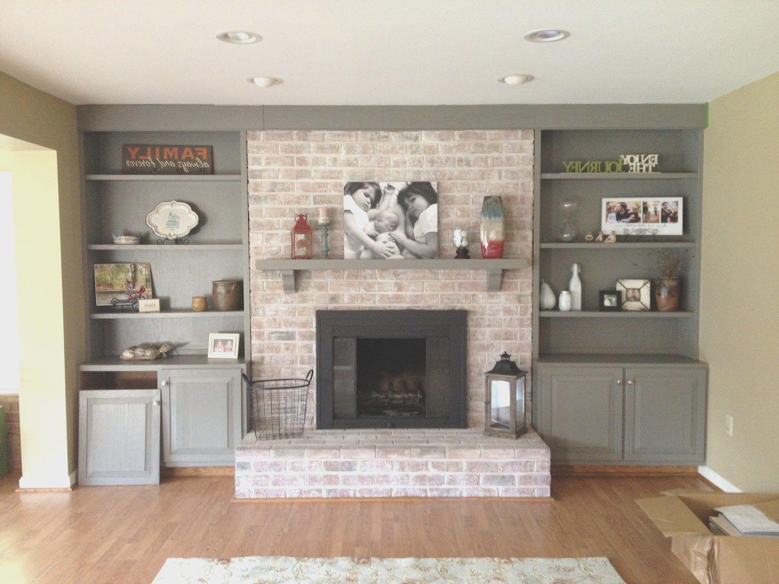 Built In Cabinets Around Fireplace Diy Deck Storage Box Ideas