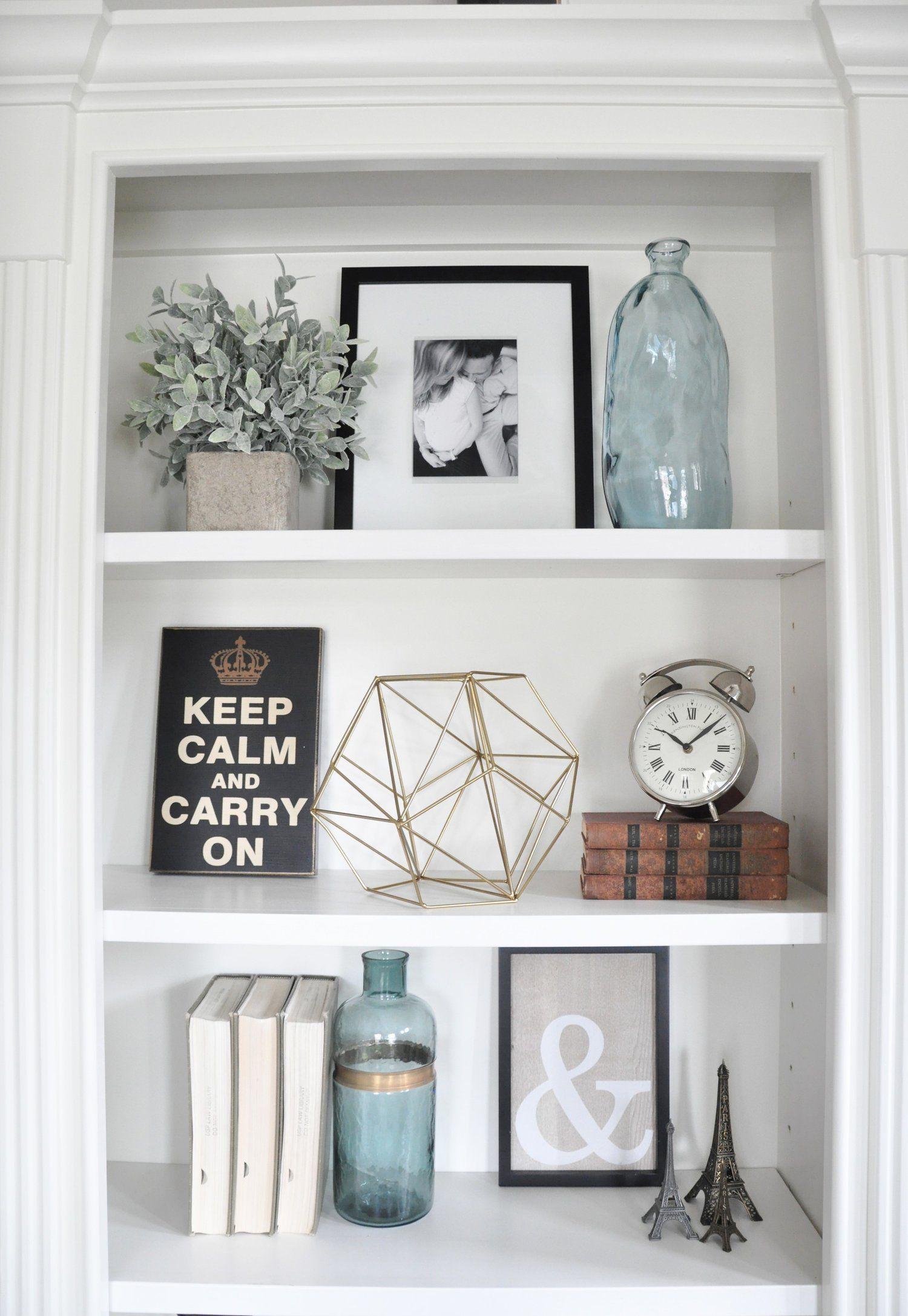 Styling Built Ins Decorating Bookshelves Home Decor regarding sizing 1500 X 2174