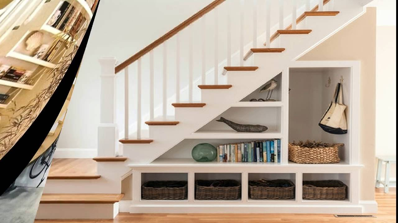 Under Stairs Space Design Ideas Understair Bookcase And Display Room Ideas with regard to size 1280 X 720
